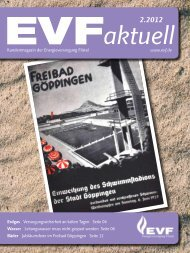Kundenmagazin 2 / 2012 - Energieversorgung Filstal GmbH & Co. KG