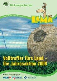 Die Jahresaktion 2006 Volltreffer fürs Land - Niedersächsische ...