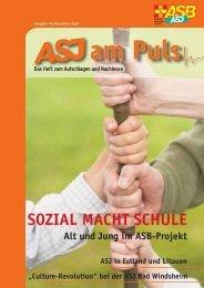 ASJ am Puls 3/2007 (Download ASJ AmPuls - Arbeiter-Samariter ...