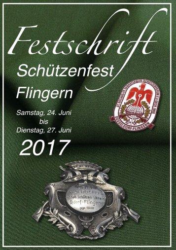 Festschrift Schützenfest Düsseldorf-Flingern 2017