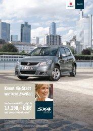 """SX4 """"city"""" - Suzuki"""