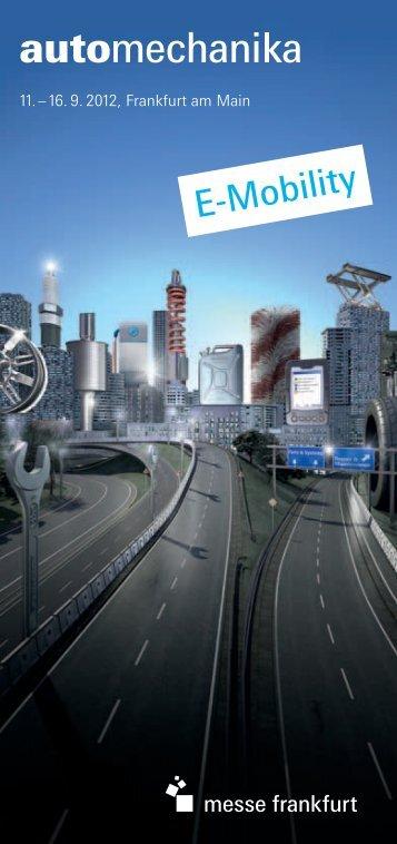E-Mobility - Automechanika - Messe Frankfurt