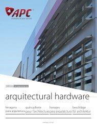 APC 2017 Architectural Hardware Catalogue