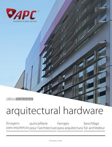 APC 2017 Architectural Hardware Catalogue