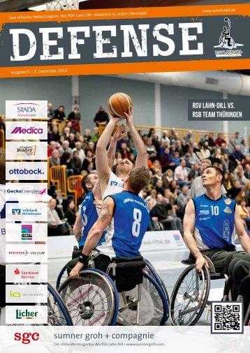 RSV Defense Magazin 05 2012/2013 herunterladen.