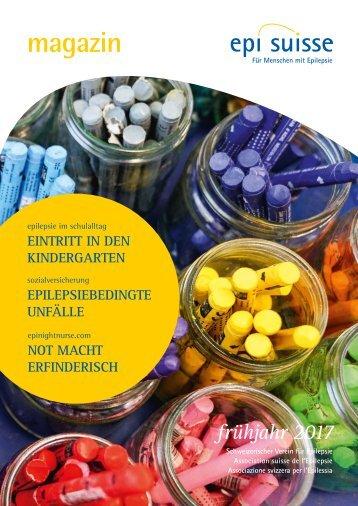 Magazin Epi-Suisse - Frühling 2017