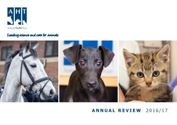 Animal Health Trust Annual Review 2016/2017