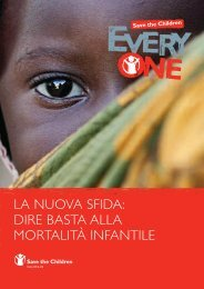 la nuova sfida: dire basta alla mortalità infantile - Save the Children ...