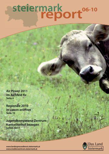 Steiermark Report Juni 2010 - BH Liezen - Steiermark
