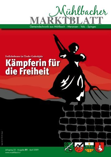 Mühlbacher Marktblatt 01/2009