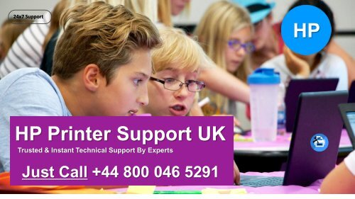 HP Printer Support Phone Number +44-800-046-5291 UK for Help