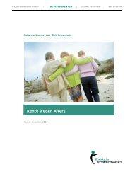 Rente wegen Alters - Rheinische Versorgungskassen