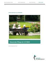 Dauernde Pflege §§ 5 ff BVO - Rheinische Versorgungskassen
