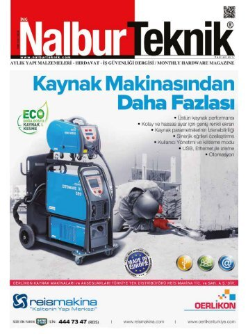 Nalbur Teknik Dergisi Haziran 2017 Sayısı