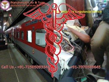 Panchmukhi Low-Cost Rail and Train Ambulance Service from Jamshedpur to Kolkata at Low-Fare