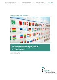 Auslandsbehandlung - Rheinische Versorgungskassen