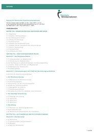 Satzung der Rheinischen Zusatzversorgungskasse (RZVK)
