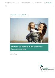 Beihilfen für Beamte in der Elternzeit / Beurlaubung NRW