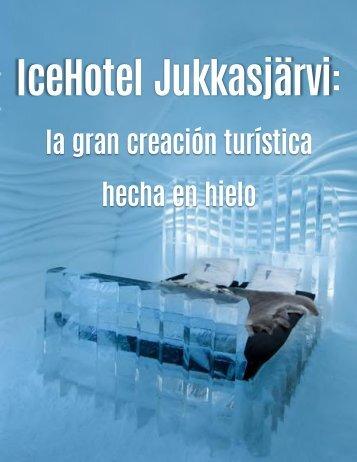Juan Carlos Briquet Marmol - IceHotel Jukkasjärvi en Suecia