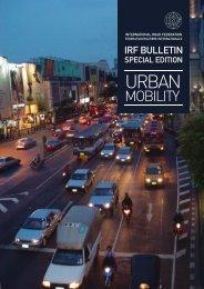 Motorways and Urban Mobility - International Road Federation