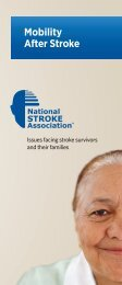 Mobility After Stroke - National Stroke Association