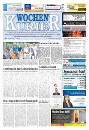 Wochen-Kurier 25/2017 - Lokalzeitung für Weiterstadt und Büttelborn
