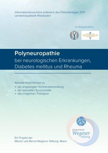 Informationsbroschüre Polyneuropathier