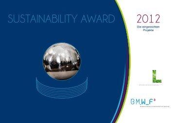 Sustainability_Award_2012_DE.p - Bundesministerium für ...