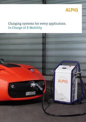 charging systems: brochure PDF - Alpiq InTec West AG