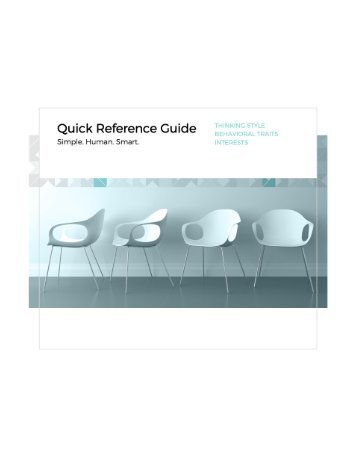 5. Quick Reference Guide
