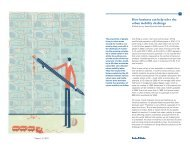 How business can help solve the urban mobility ... - Arthur D. Little