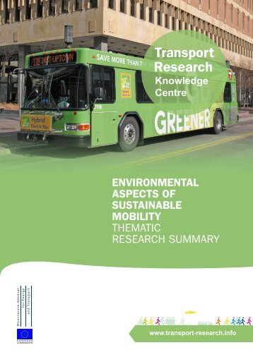 Environmental Aspects of Sustainable Mobility - Transport Research ...