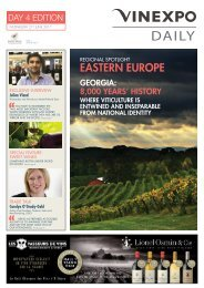 Vinexpo Daily - Day 4 Edition