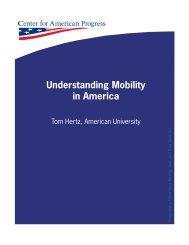 Understanding Mobility in America - Center for American Progress