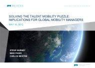 Global Talent Mobility - iMercer.com