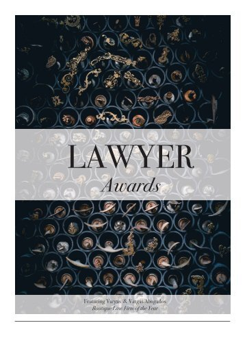 Lawyer Issue 2017 Awards