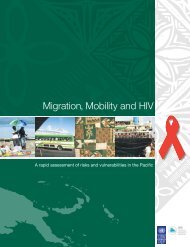 Migration, Mobility and HIV - United Nations Development ...