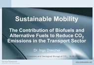 Colloque CO2 - Ingo Drescher (Volkswagen AG) : Sustainable ...