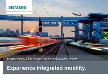 Corporate Design PowerPoint-Templates - Siemens Mobility