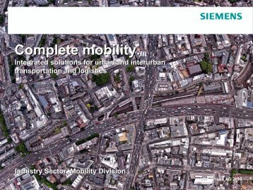 T24 Sustainable Transport - Complete Mobility - Siemens
