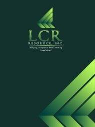 LCR Resource - PEO Presentation