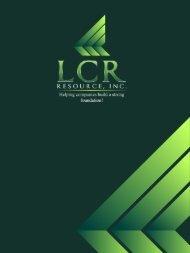 LCR Resource - PEO Presentation