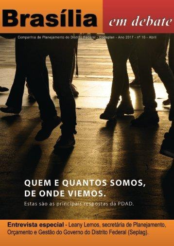 Brasília em Debate Revista 16 20-06-2017