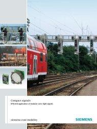 Versatility of modular color light signals - Siemens Mobility