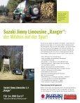"""Technische Daten Jimny Limousine """"Ranger"""" - Suzuki - Seite 2"""