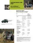 """Technische Daten Jimny Limousine """"Ranger"""" - Suzuki - Seite 3"""