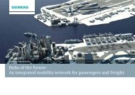 Hubs of the future: An integrated mobility network ... - Siemens Mobility