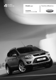 Feel the difference FordKuga - Motorline.cc