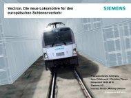 Jens Chlebowski, Siemens Mobility: Vectron: Die neue Lokomotive ...