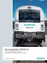 Eurosprinter ES64U4 - Siemens Mobility